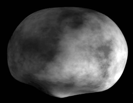 3-D model of Vesta