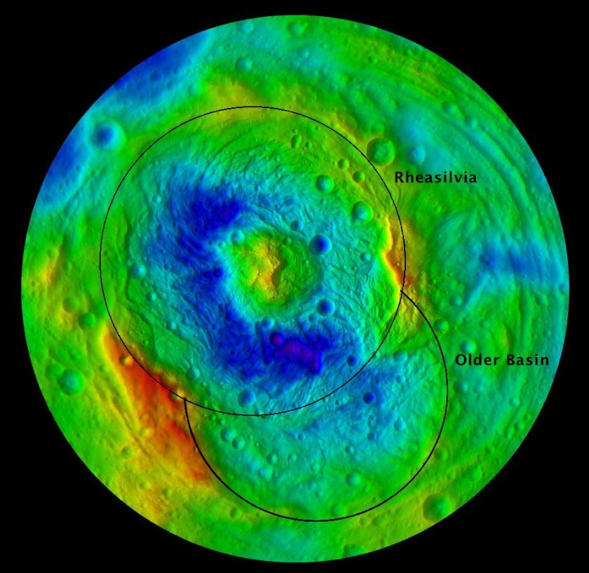 Not one, but two basins at Vesta's south pole
