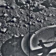 Viking's 1st Image on Mars