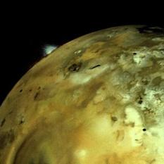 Volcanoes on Io