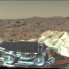 Pathfinder landing July 4, 1997
