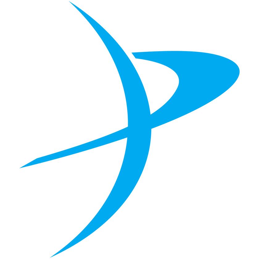 Planetary Society Logo P - Light Blue