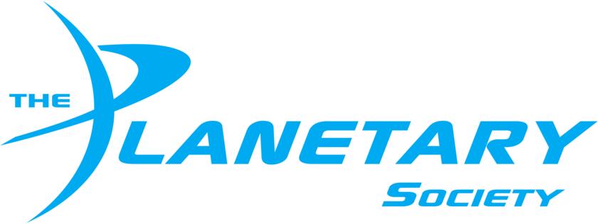 Planetary Society Logo - Light Blue