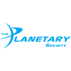 Planetary Society Logo - Light Blue