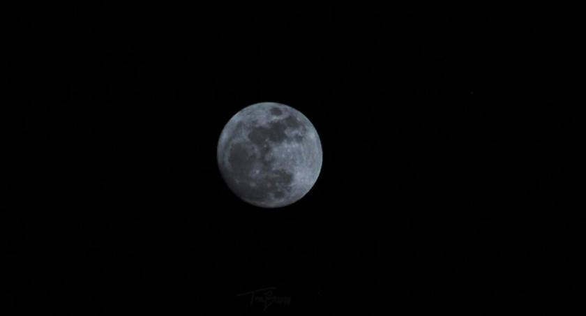 My first Moon photo