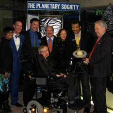 Steven Hawking award photo