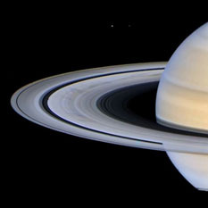 Saturn's rings by Ian Regan