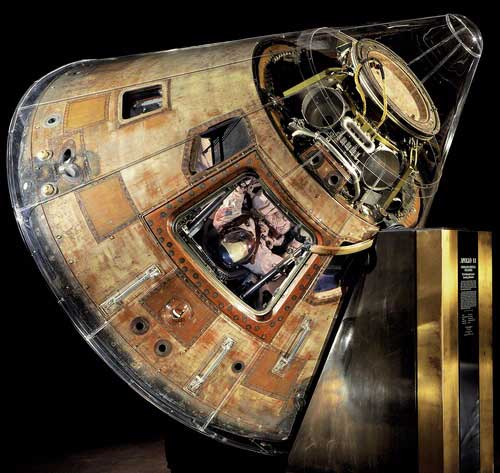 Apollo 11 Command Module at the Smithsonian Institution's National Air and Space Museum