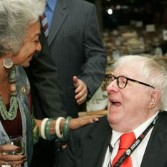 Nichelle Nichols and Ray Bradbury