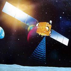 Chang'e 1 or 2 Moon orbiter artist's concept
