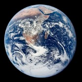 Apollo 17 view of Earth