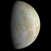 Europa from Galileo by Ted Stryk