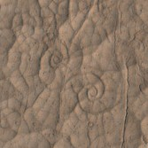 Swirl patterns in a HiRISE image of a lava flow on Mars