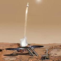 Future tech Mars Sample Return mission concept
