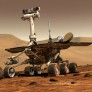 Mars Exploration Rover artist's concept Spirit or Opportunity, on Mars