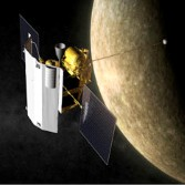 MESSENGER artist's concept at Mercury