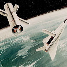 Future tech orbital propellant depot concept
