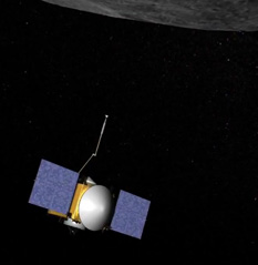 OSIRIS-REx artist's concept preparing to grab a sample