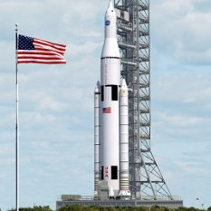 Space Launch System artist's concept