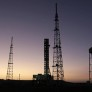Space Launch System photo mobile launcher visits pad 39B