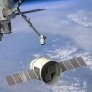 Dragon approaches the ISS artist's concept