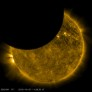 SDO observes a lunar transit of the Sun