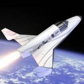 Lynx XCOR artist concept suborbital space plane