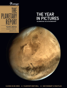 Winter 2014 issue of <i>The Planetary Report</i>