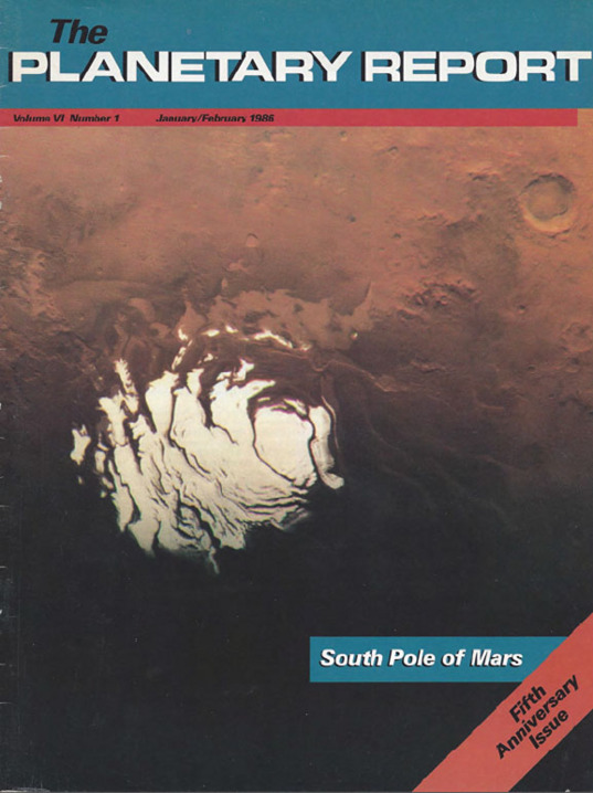 South Pole of Mars