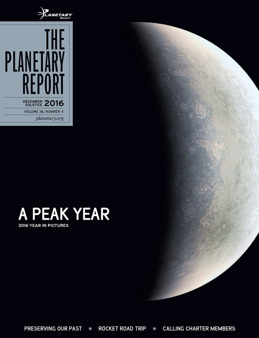 Winter 2016 issue of The Planetary Report