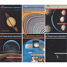Planetary Report Voyager covers