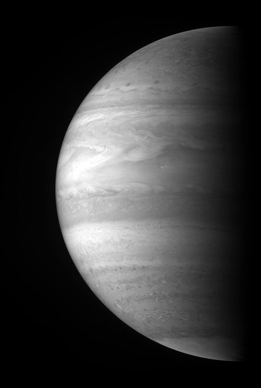 New Horizons view of Jupiter in a methane band