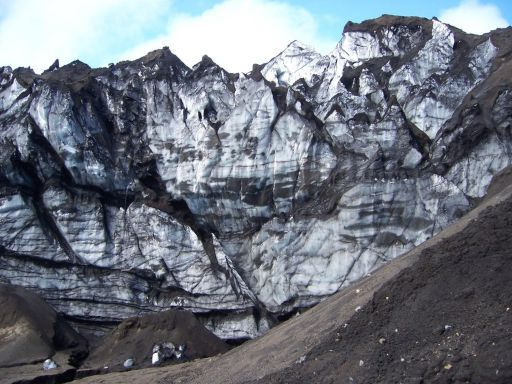 Caldera walls