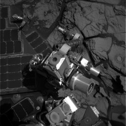 View from Opportunity's Navcam, sol 706