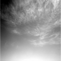 Clouds over Meridiani Planum