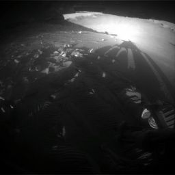 Opportunity looks back at Victoria