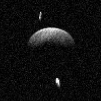 Triple asteroid 153591 (2001 SN263)