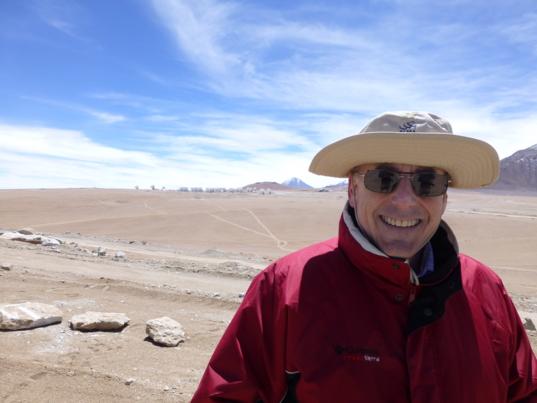 Mat Kaplan at the ALMA High Site