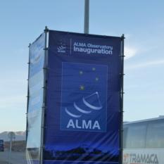 ALMA Inauguration Banner