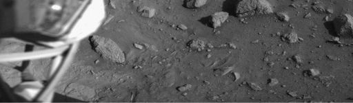 Viking 2 image of its landing site