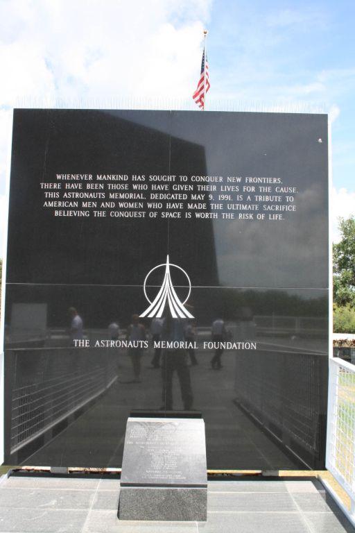 Astronaut Memorial Plaque