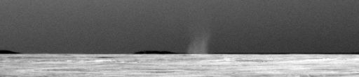 Opportunity's first dust devil