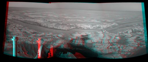 Looking east in 3-D