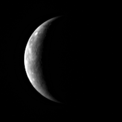 MESSENGER approaches for its third Mercury flyby