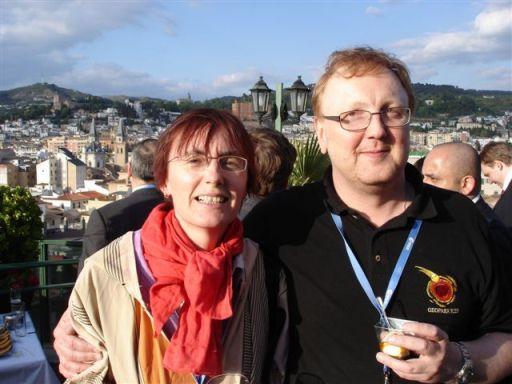 Jane Ticha and Milos Tichy