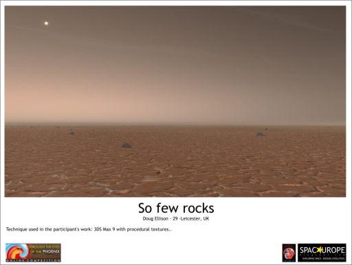 So Few Rocks