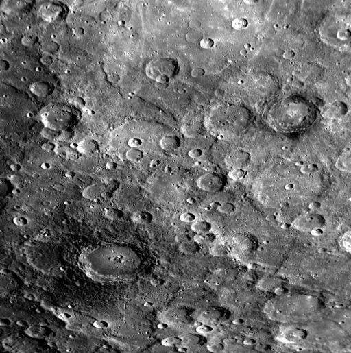 Dark-halo craters near Mercury's south pole