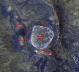 Home Plate from Mars Reconnaissance Orbiter, July 16, 2009