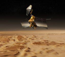 MRO over Mars