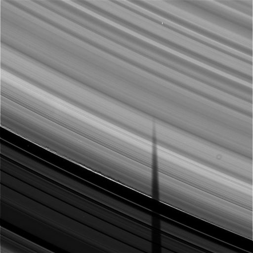 Shadows on Saturn's rings